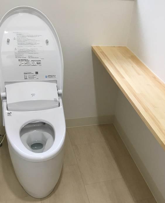 1-8 トイレ 洋便器 ⇒ 洋便器