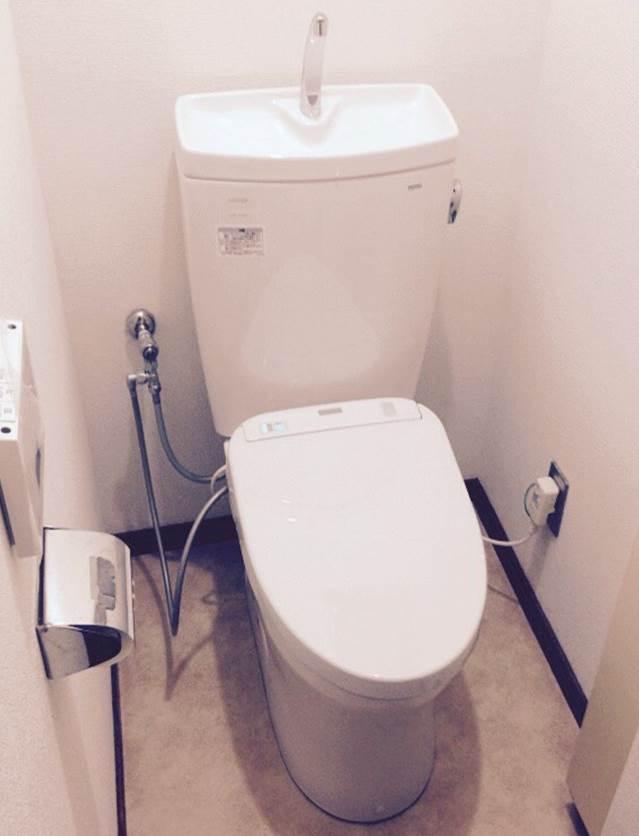 1-9 トイレ 洋便器 ⇒ 洋便器