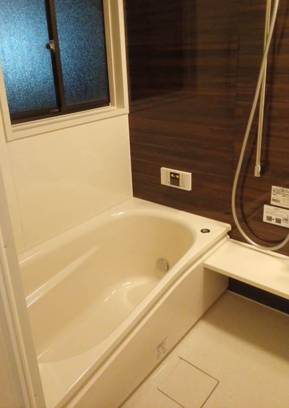 2-2 浴室 タイル風呂⇒ユニットバス