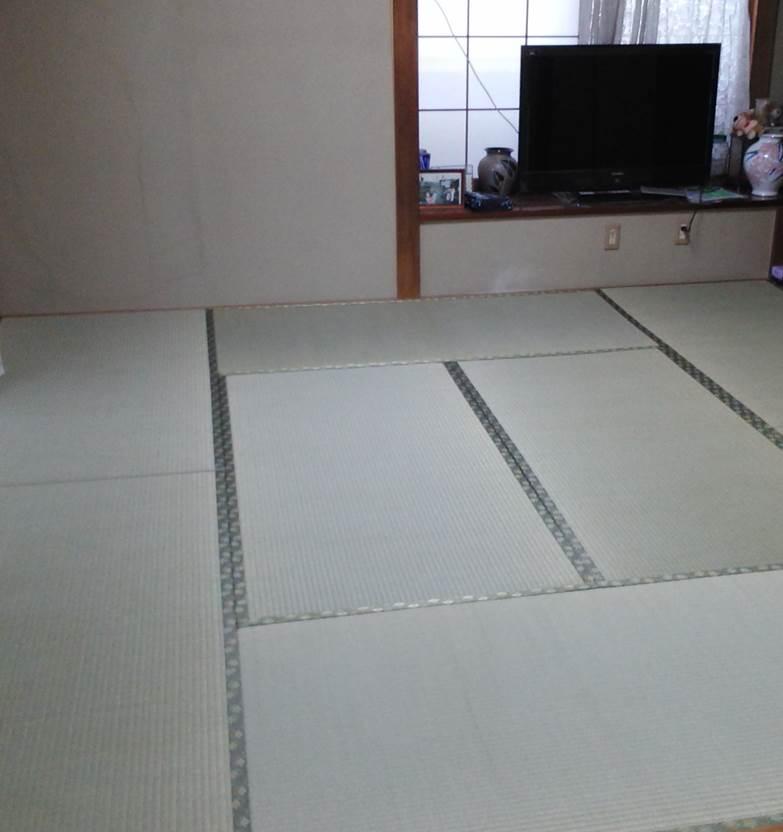 2-6 畳表替え 畳⇒ 畳