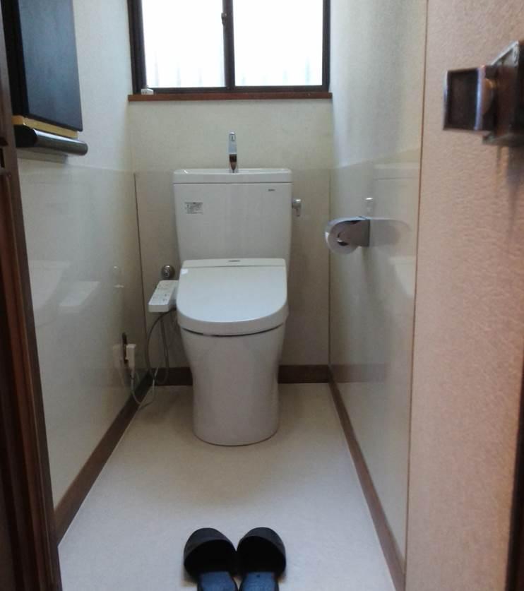 3-4 トイレ 洋便器 ⇒ 洋便器