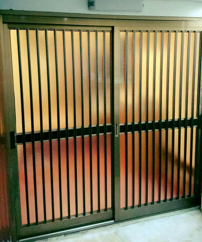4-2 玄関引戸 玄関引戸⇒玄関引戸