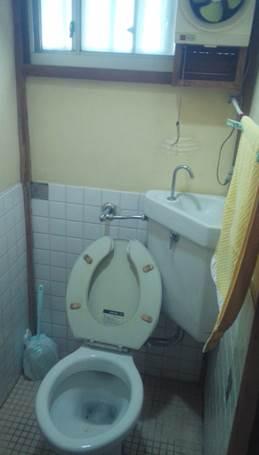 4-9 トイレ 洋便器 ⇒ 洋便器 施工前
